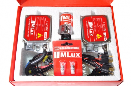 Биксенон Mlux cargo 35w комплектация